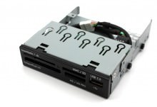 HP 3.5 Inches All In One Card Reader (Support SDHC)