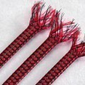 Deluxe PET PP Cotton Braided Sleeving (Red 8mm)