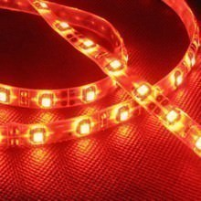 Custom length sleeved led light strip red moddiy custom length sleeved led light strip red mozeypictures Images