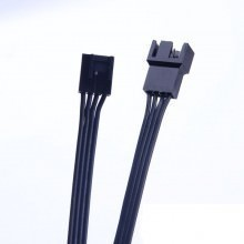 Corsair-Style 4-Pin Fan Extension Ribbon Cable (50cm / 100cm / 150cm / 200cm)