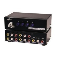 Maituo 4 Port AV Video Audio Splitter (MT-431AV)