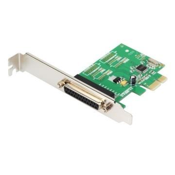 1-Port DB-25 Parallel Printer Port LPT1 PCI-e Controller Card (WCH382)
