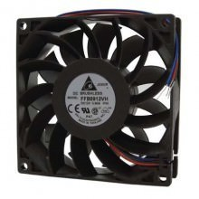 Delta 9225 92mm 3-Wire 3700RPM Ball Bearing Fan