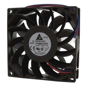 Delta 9225 92mm 3-Wire 3700RPM Ball Bearing Fan