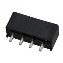 4-Pin Molex Female Header Socket Connector for PCB Mounting