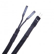 High Quality Sleeved Power LED 2-Pin Internal Header Extension Cable (50cm)
