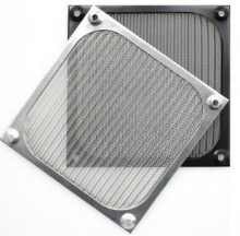 Aluminium 12cm Fan Filter (Black)