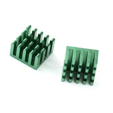 Passive Heatsink MOSFET Chipsink 17mm - Green