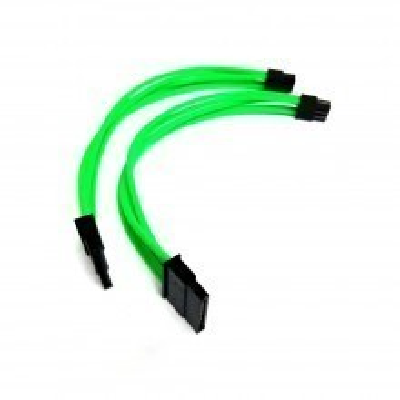 Thermaltake Toughpower RGB 850 6-Pin to SATA Power Green Modular Cable