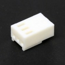 3-Pin Computer Fan Female Connector (White) with Pins